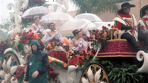 Rainy Rose Parade.e