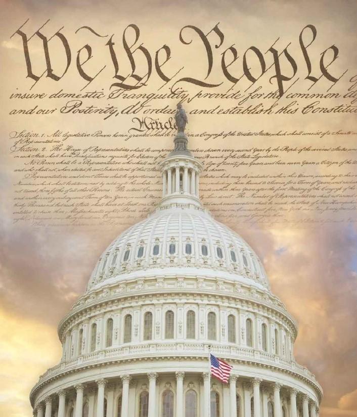 US capitol constitution