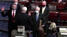 U.S. senators sworn in